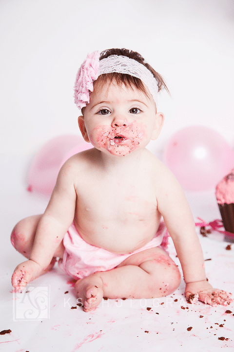0436040 cake smash photography 1st birthday portraiture photos